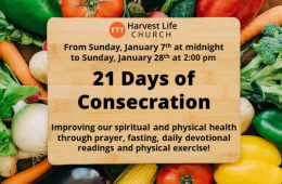 top story graphic 21 Days Consecration