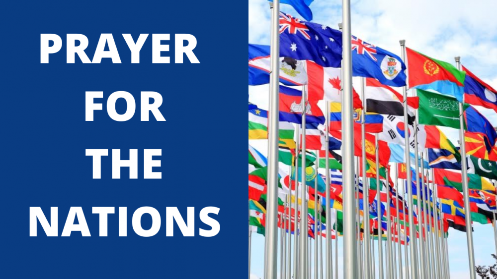 Prayer For The Nations Image